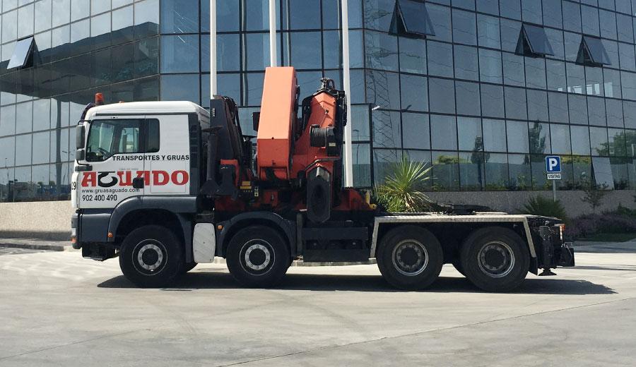Aguado Crane truck up to 100 TN