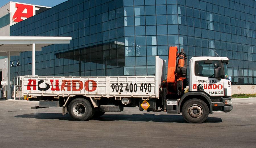 Aguado Crane truck 30 TN
