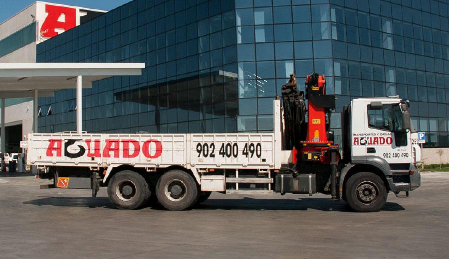 Aguado Crane truck 40 TN