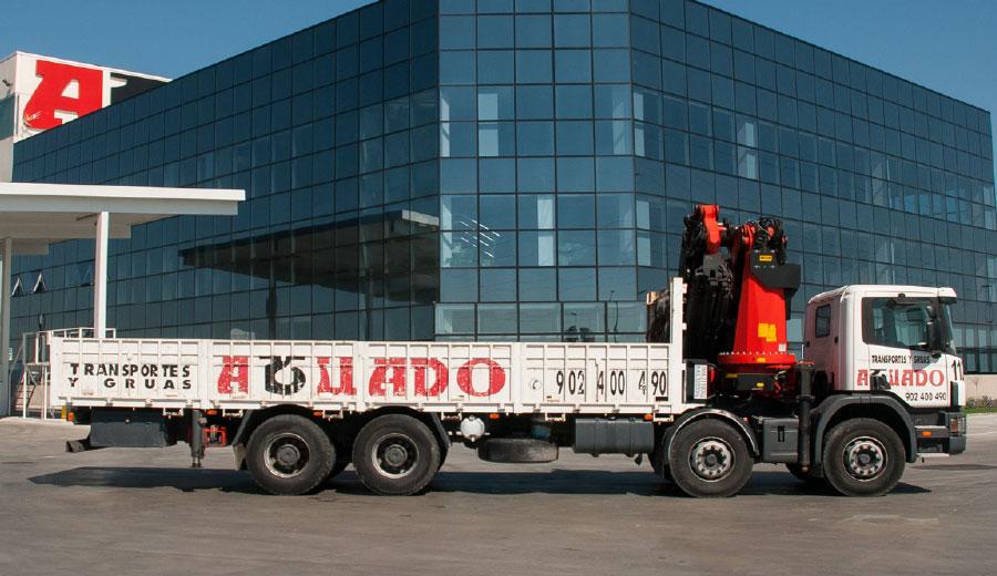 Aguado Crane truck 70 TN