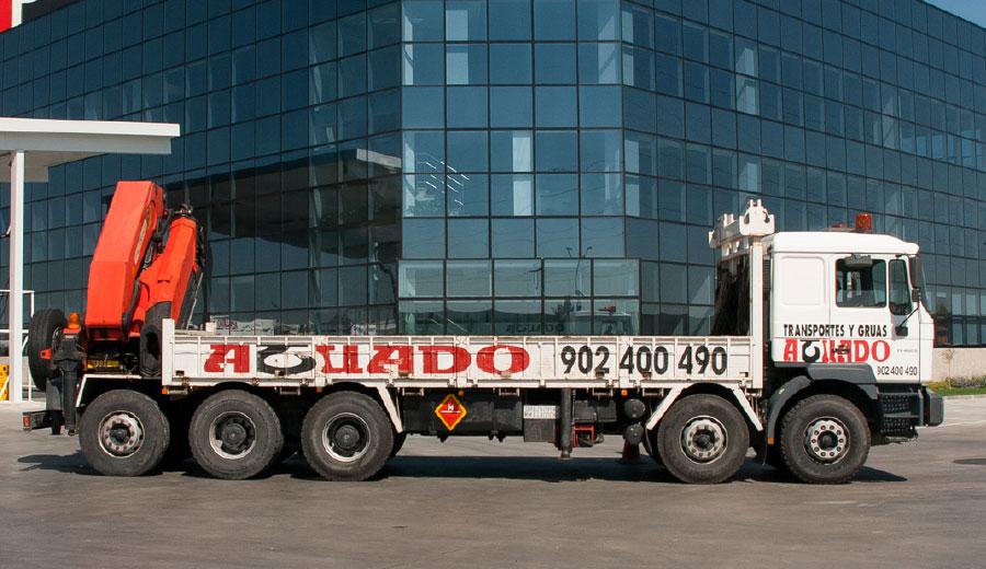 Aguado Crane truck 100 TN